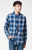 Billabong Jackson Plaid Long Sleeve Button Up Shirt