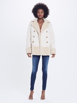 Mother Shearling Jacket - All Bundled Up - Cream