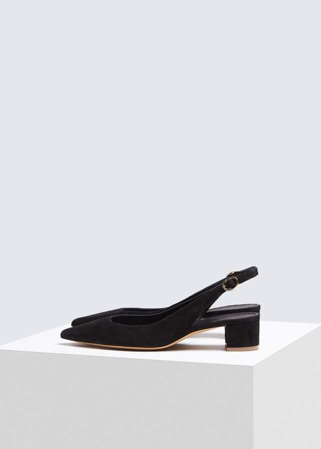 78f5239bb6b Suede Slingback Heel