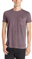 French Connection Men's Pigment Garment Dyed Pocket Tee