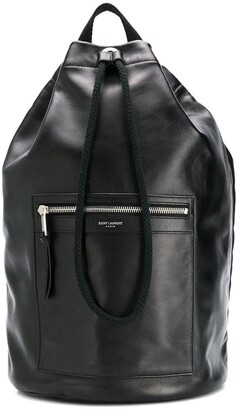 Saint Laurent Drawstring Backpack