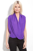 Surplice Neck Blouse