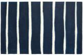 "One Kings Lane Martha Stewart Chalk Rug - Navy - 2'3""x10'"
