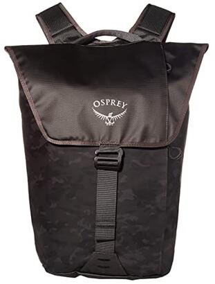 Osprey Transporter Flap Pack (Camo Black) Backpack Bags