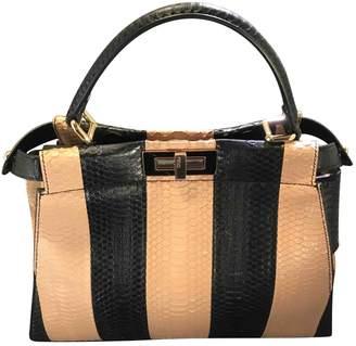 Fendi Peekaboo Other Python Handbags