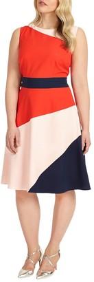 Studio 8 Gabriella Colour Block Dress, Multi