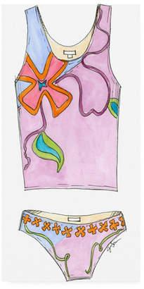 """Jennifer Goldberger Fun Wear Iii Childrens Art Canvas Art - 15.5"""" x 21"""""""