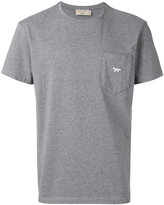 MAISON KITSUNÉ chest pocket T-shirt - men - Cotton - XXL