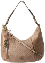 Elliott Lucca Bali '89 Intreccio Hobo (Aztec Taupe) - Bags and Luggage