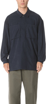 E. Tautz Corduroy Long Sleeve Overshirt