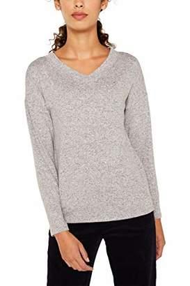Esprit Women's 119ee1k003 Long Sleeve Top,Large