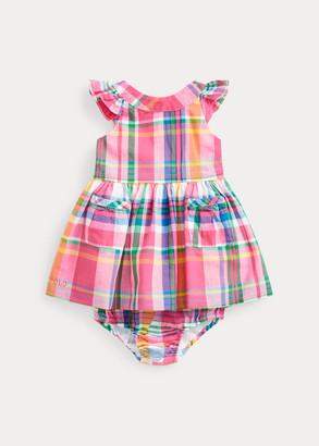 Ralph Lauren Madras Dress & Bloomer