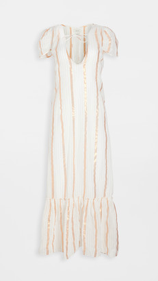 Innika Choo Sheer Maxi Dress