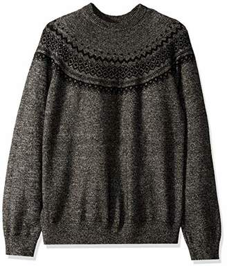 Armani Exchange A|X Men's Dyed Yarn Vintage Holiday Pullover Sweater