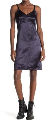 Helmut Lang Shiny Mini Slip Dress
