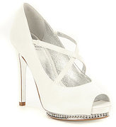 Adrianna Papell Golda Leather Criss-Cross Strap Pumps