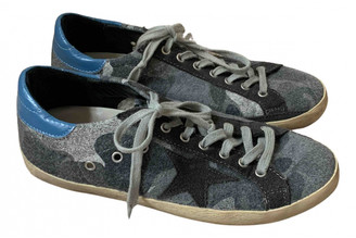Golden Goose Superstar Grey Suede Trainers