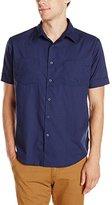 Brixton Men's Branson Short Sleeve Woven Shirt