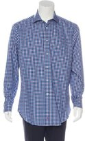 David Donahue Plaid Long Sleeve Shirt w/ Tags