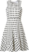 Derek Lam 10 Crosby checked flared dress - women - Cotton/Polyamide/Polyester - 0