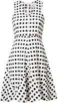 Derek Lam 10 Crosby checked flared dress - women - Cotton/Polyamide/Polyester - 2