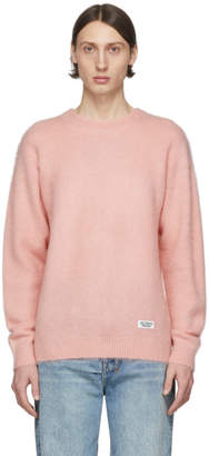 Wacko Maria Pink Mohair Sweater