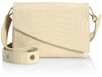 Nancy Gonzalez Large Olivia Crocodile Shoulder Bag
