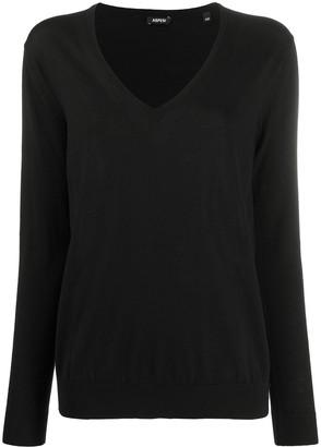 Aspesi V-neck wool jumper