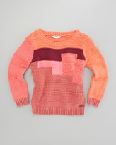 Little Marc Jacobs Colorblock Sweater, Sizes 2-5