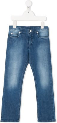 Christian Dior Faded Straight Leg Jeans