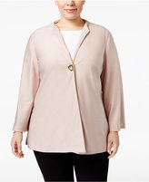 JM Collection Plus Size Toggle Jacket, Only at Macy's