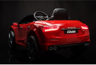 Best Ride on Cars Kids' Maserati Ghibli 12V Ride-On Car