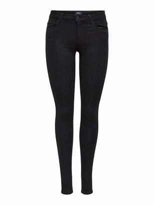 Only Women's ROYAL SOFT REG SKIN JEGGING BLACK NOOS Skinny Trousers