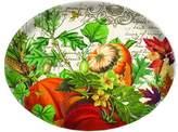 Michel Design Works Glass Soap Dish, Autumn Harvest