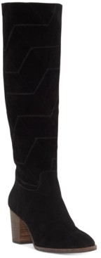 Lucky Brand Women's Prouska Leather Boots Women's Shoes