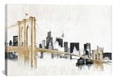 iCanvas 'Skyline Crossing' Giclee Print Canvas Art