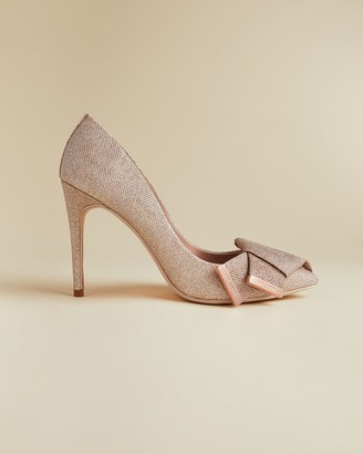 Ted Baker IINESM Lurex bow detail courts