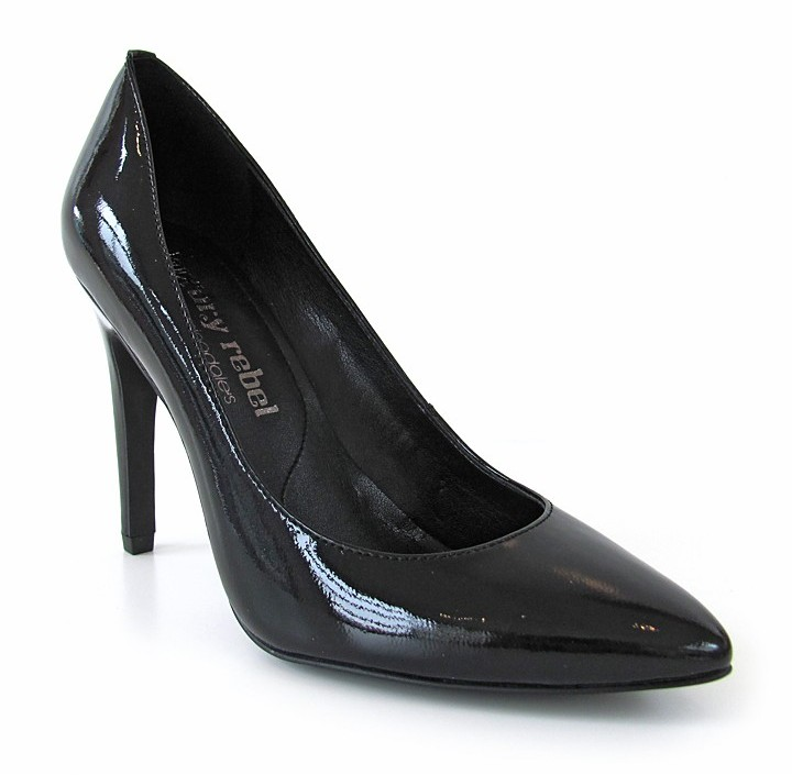 Luxury Rebel Pointed Toe Pumps - Victoria High Heel