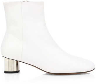 Clergerie Paige Leather Ankle Boots