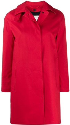 MACKINTOSH DUNOON Red Bonded Cotton Short Coat | LR-1005D
