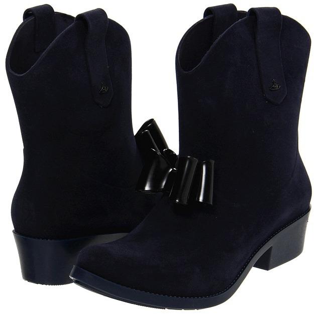 Vivienne Westwood Anglomania + Melissa Protection (Black) - Footwear
