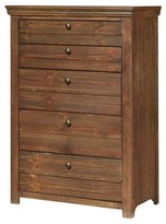 Homelegance Carriage Hill Weathered 5-Drawer Chest Pine