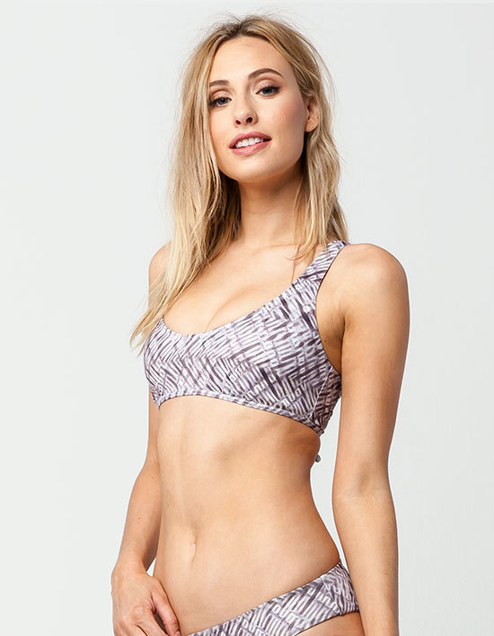 Reef Lace Back Bralette Bikini Top