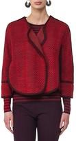 Akris Punto Women's Wool Blend Crop Jacket