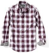 Banana Republic Grant-Fit Custom Wash Bold Gingham Shirt