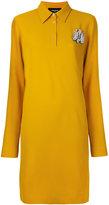 Rochas studded insect shirt dress - women - Spandex/Elastane/Acetate/Cupro/Viscose - 40