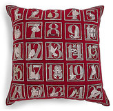 Marks and Spencer Advent Calendar Pocket Cushion