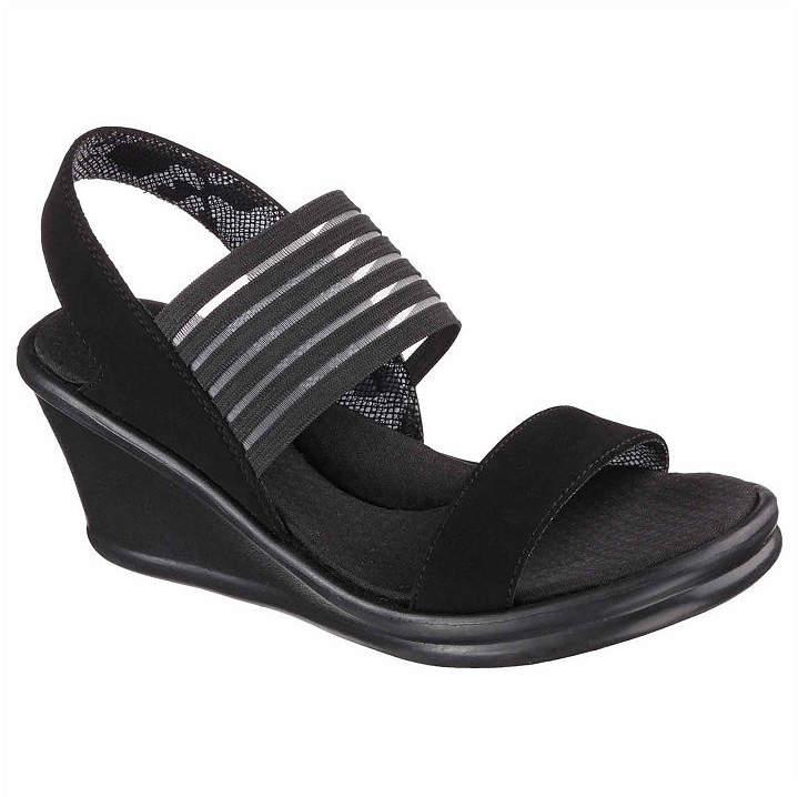 a32428fb4427 Skechers Wedge Women s Sandals - ShopStyle
