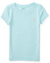 Ralph Lauren Dusty Turquoise Modal Tee - Toddler & Girls