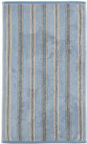 Sanderson Brecon Stripe Towel - Blue - Bath Towel